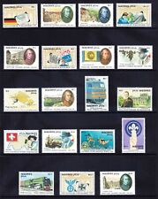 MALDIVE IS 1992 SG1580/MS99 set of 19 + 8 mini-sheets Ann & events u/m. Cat £90