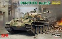 Ryefield Model RFM5018 1/35 Panther Ausf.G Early/ Late productions Model Kit