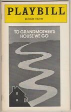 "Eva Le Gallienne Playbill 1981 ""To Grandmother's House We Go""  Kim Hunter"
