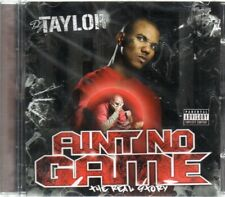 The Game - DJ Taylor - Ain't No Game CD - New & Sealed