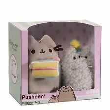 Pusheen The Cat - Plush Pusheen and Stormy Birthday Collectible Set *BRAND NEW*
