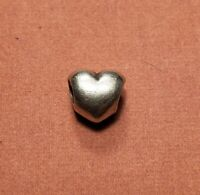 AUTHENTIC Pandora ALE 925 Sterling Silver Solid Heart Charm