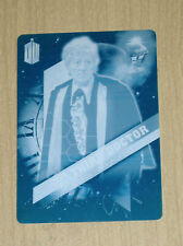 2016 Topps Doctor Who Timeless print plate Cyan Third Doctor 3 of 13 1/1
