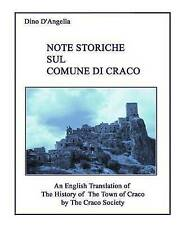 NEW The History of the Town of Craco by Mr. Dino D'Angella