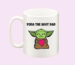 Yoda Best Dad Father's Day Novelty Gift Idea Mug, Coffee or Tea Cup