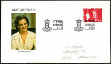 Greenland 1980, 130ore Queen Margrethe Definitive FDC First Day Cover #C41441