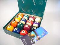 "2"" ARAMITH PREMIER SPOTS & STRIPES Engraved Tournament Pool Balls"