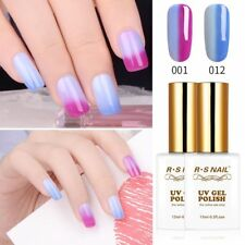 RS Nail Gel Nail Polish Temperature Change Colour UV Gel 001+012 30ml