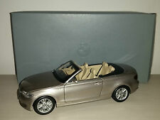 BMW 1°SERIE CONVERTIBLE KYOSHO SCALA 1:18