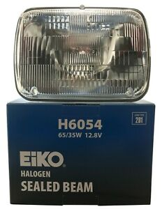 "Headlight Bulb 7 x 6"" Lighting EIKO H6054 2B1 Sealed Lamp Beam - 65 / 35W 12.8V"