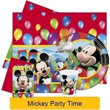 Decoración y menaje servilletas cumpleaños infantil para mesas de fiesta de Mickey Mouse