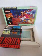 SNES Super Nintendo Aladdin LEERKARTON OVP / EMTY BOX b.