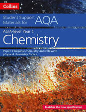 AQA A Level Chemistry Year 1 & AS Paper 2 (Collins Student Support Materials), S