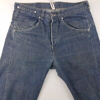 Levi's 00001 1038 Mens Vintage Jeans W32 L32 Blue Regular Fit Straight High Rise