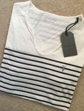 Short Sleeve Deep V Striped T-Shirts for Men