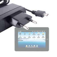 Quality Tablet Charger For CnM TouchPad II With EU 2 Pin Mains Plug & Micro USB