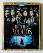 Disney Film Adaptation of Broadway Musical Into The Woods Blu-ray & Digital Copy