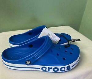 Crocs Bayaband Clog Comfort Bright Cobalt Slides Beach Men's Size 8 / Women 10