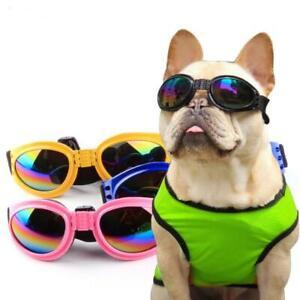 Best UV Protection Pet Glasses  Small Medium Large Dog Foldable Sunglass Goggles