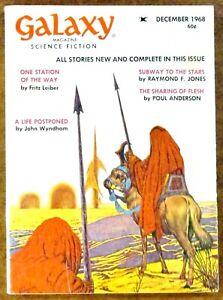 """Galaxy"" Science Fiction (December 1968) ~ Magazine ~ Leiber - Wyndham - Jones"