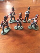 Britains Toy Soldiers Lot Of Five (5) Soldiers
