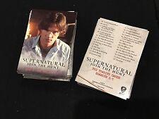2014 Supernatural Trading Cards Full Normal Set 1-72ct Season 1-3 Wb