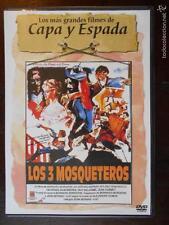 DVD LOS 3 MOSQUETEROS - BERNARD BORDERIE - 1961 - COMO NUEVA (4O)