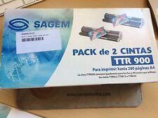 Sagem TTR 900 - Cinta para impresora. Pack de dos cintas. Envio en 24H