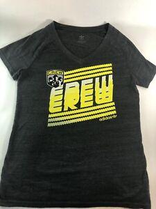 Womens Adidas Size XL Vneck Columbus Crew Soccer MLS Tshirt