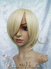 New Axis Powers Hetalia APH HETALIA NORWAY Short Blonde Wig+Gift