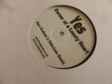 """YES - Owner of a Lonely Heart - UK ?-track 12"""" Vinyl Single / White Label"""