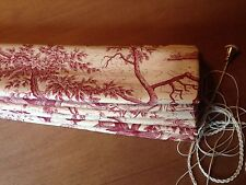Marvic Textiles La Chasse French Toile Interlined Roman Blind,Made To Measure