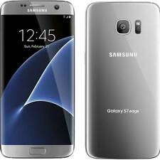 Unlocked Samsung Galaxy S7 edge G935A 32GB Silver AT&T T-Mobile Cricket H2O GRT