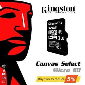 Kingston Micro SD 32GB 64GB SDHC Class 10 TF Memory Card Mobile Phone