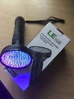 Deluxe Golf Ball Finder Torch - 100 Leds Huge Search Area - Free Batteries