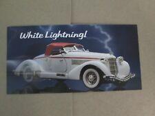 Franklin Mint Brochure 1935 Auburn 851 Speedster