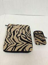 Dennis Basso Faux Fur Tablet Cover Only Zebra Pattern