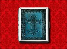 CELTIC CROSS IRISH IRELAND METAL WALLET CARD CIGARETTE ID IPOD CASE