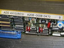 FANUC Add Axis Resolver Board, A20B-0008-0470/04B, Warranty