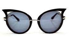 Anti-Reflective Cat Eye Metal Frame Sunglasses for Women