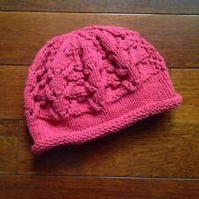 Chapeau tricoté fait à la main pour femme Bonnet hiver chaud