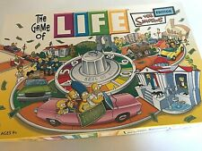 THE GAME OF LIFE The Simpsons Edition 2004 Milton Bradley Board Game