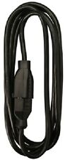 (3) 02210Me 15' 16/2 13A Sjow Black Round Vinyl Ind/Out Extension Cords