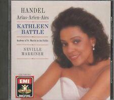Music CD Kathleen Battle Handel Arias Academy of St Martin in the Fields