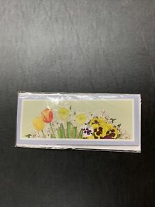 NIP Up With Paper Pop-Up Panoramic Easter Card - Easter Bouquet