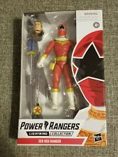 POWER RANGERS LIGHTNING COLLECTION ZEO RED RANGER IN HAND NEW TOMMY OLIVER Read