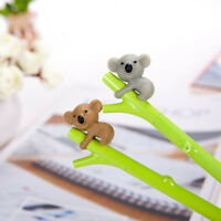 2pcs Cartoon Koala Ball Point Pens Ballpoint Pen School Stationery Kids Gifts