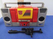 Transformers 1985 G1 Communicators: Blaster *Eject button broken