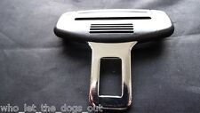 MITSUBISHI CAR SEAT BELT ALARM BUCKLE KEY INSERT PLUG SAFETY CLASP STOPPER