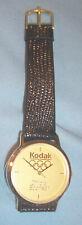 1992 Summer Olympic Spain Games Kodak Official Sponsor Souvenir Watch Men's